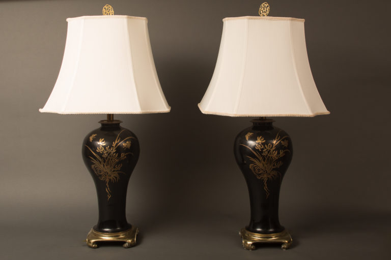 Pair of Mid Century Lamps