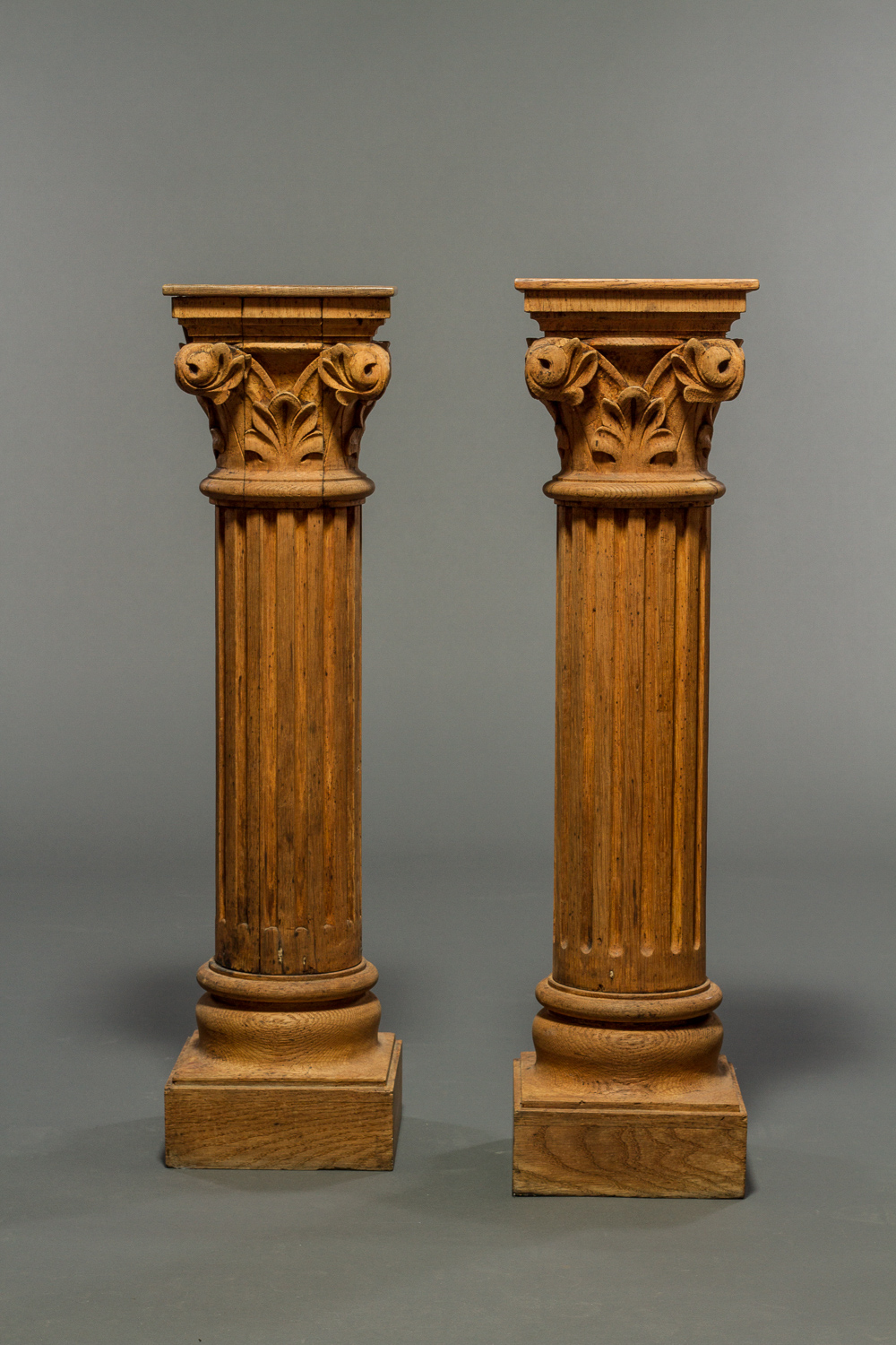 Pair of Neoclassical-Style Fluted Columns