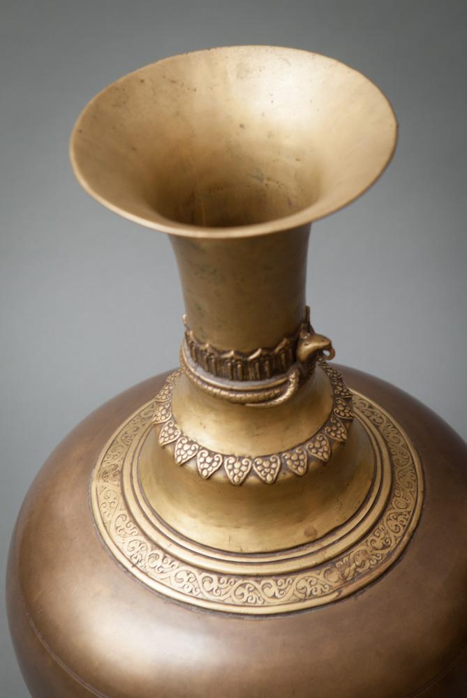 Pair of Nepalese Water Water Vessles