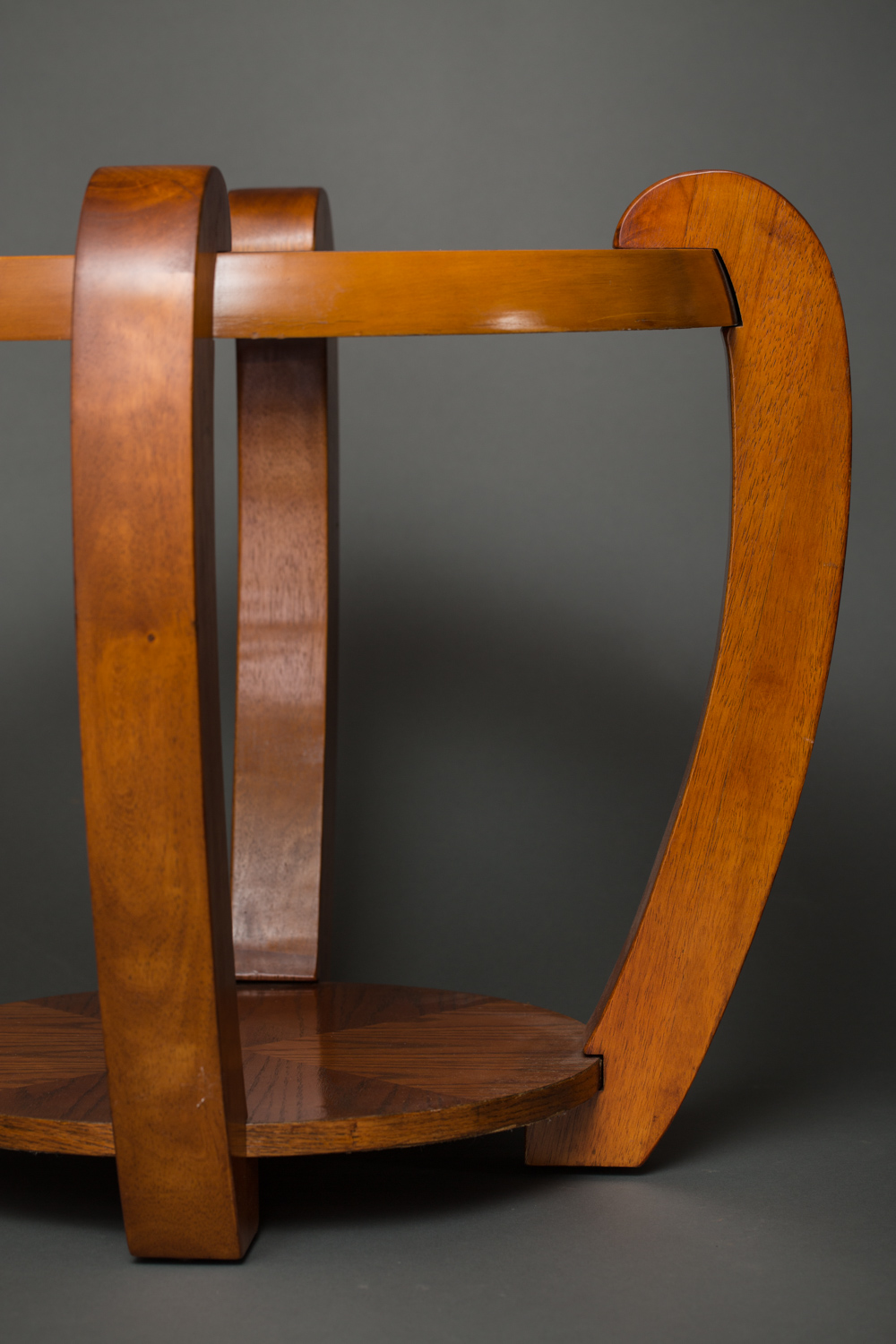 Pair of Round Side Tables.