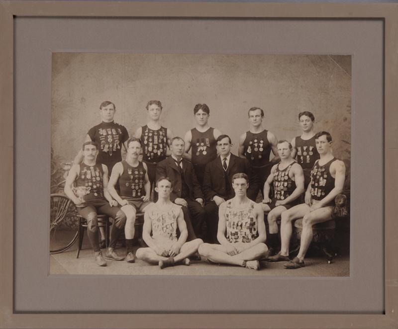 Photograph of Olympic Champions 1904