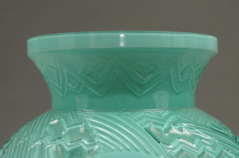 Pierre D'avesive Blue Deco Vase.