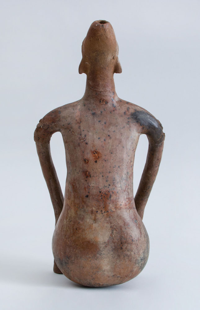 Pre-Columbian (before 1492) Proto-Classical (50 BC – 250 AD) Pottery Figure of a Seated Female