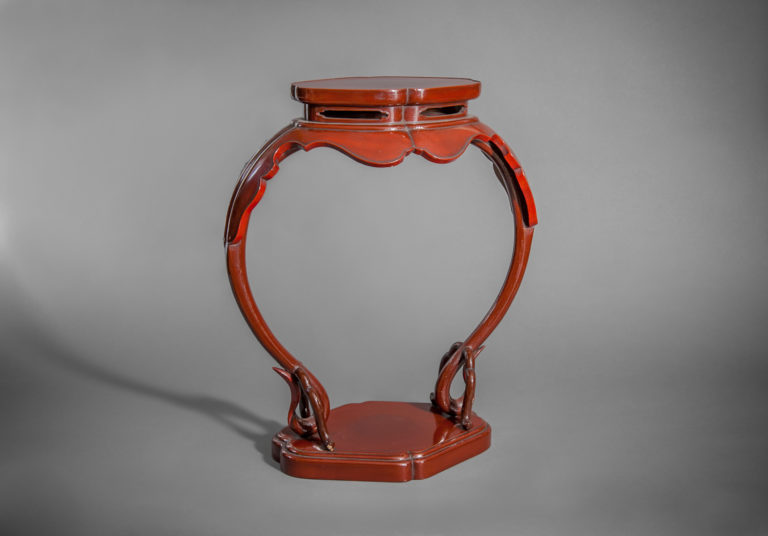 Red Lacquer Stand
