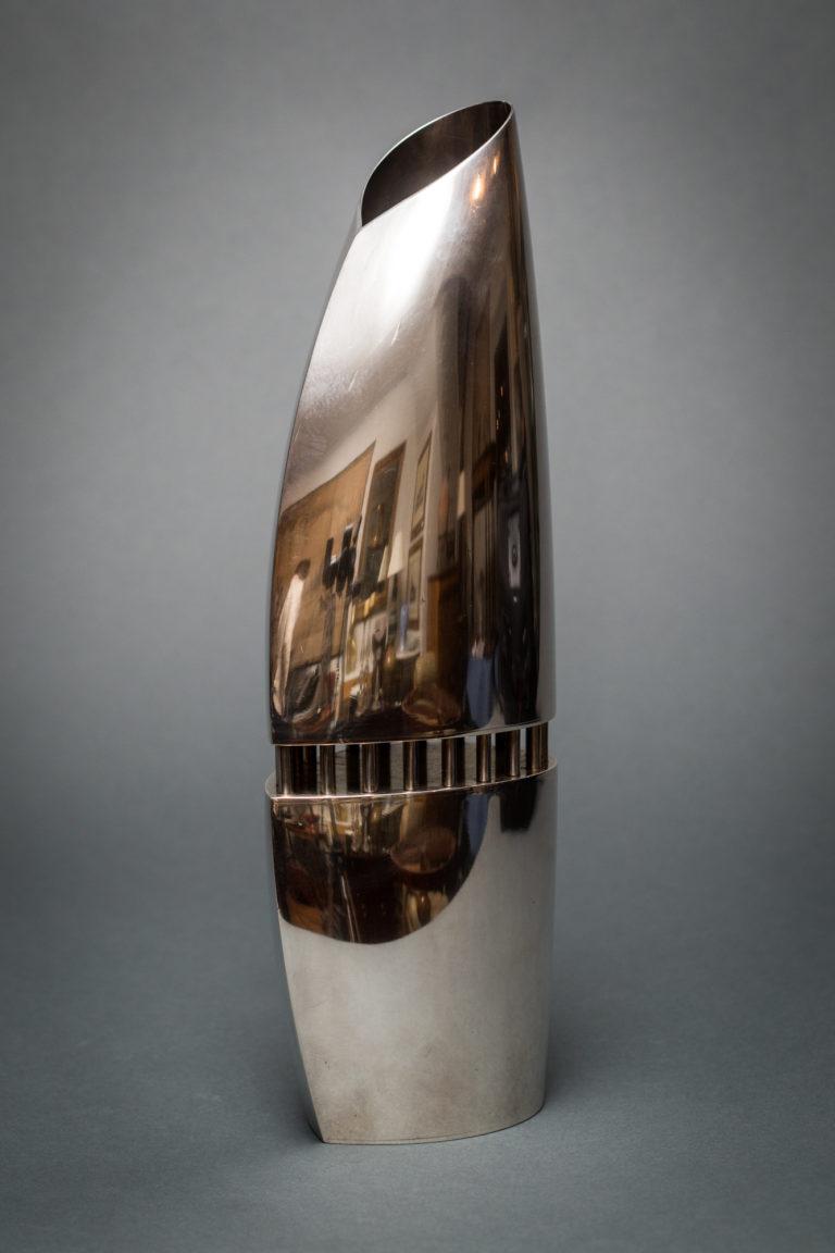 Sabattini Silver Vase