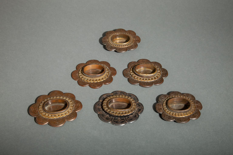 Set of Six Door Pulls