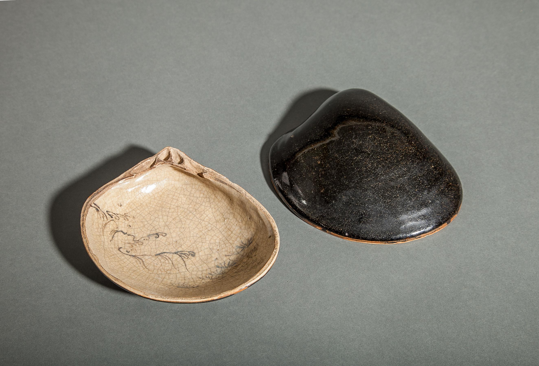 Seto Ceramic Hamaguri Shellfish Box
