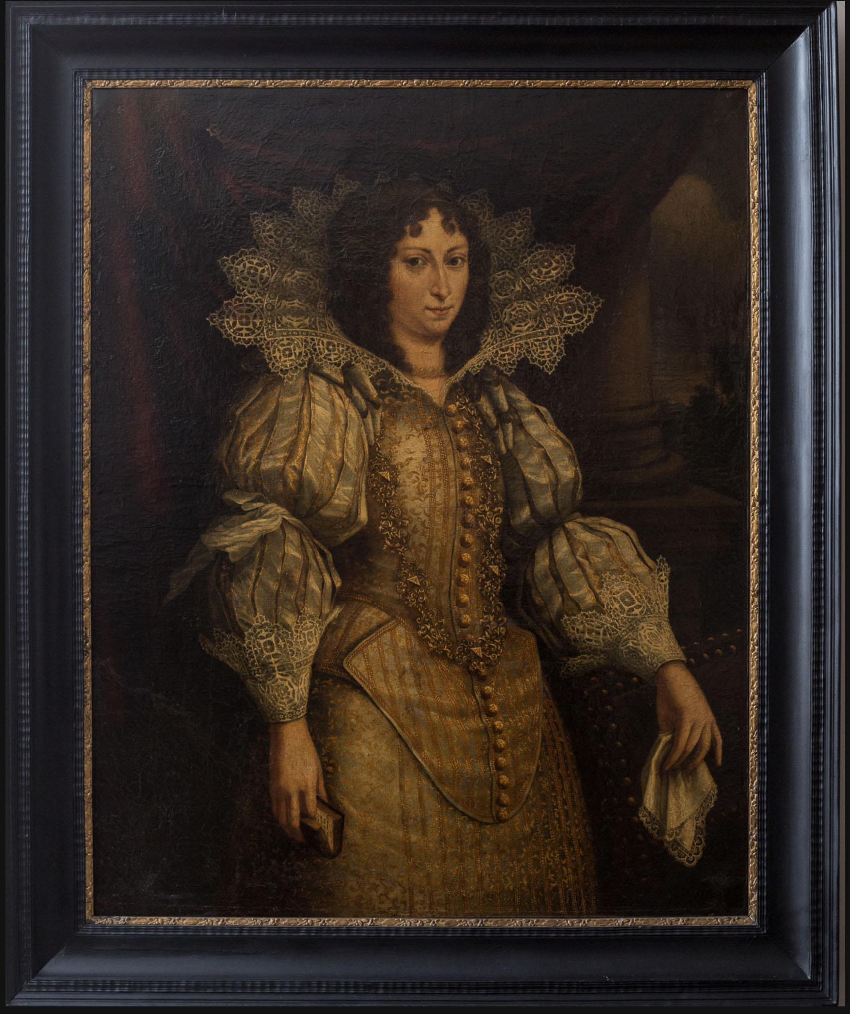 Sfumato Portrait of a Noblewoman in the Renaissance Style