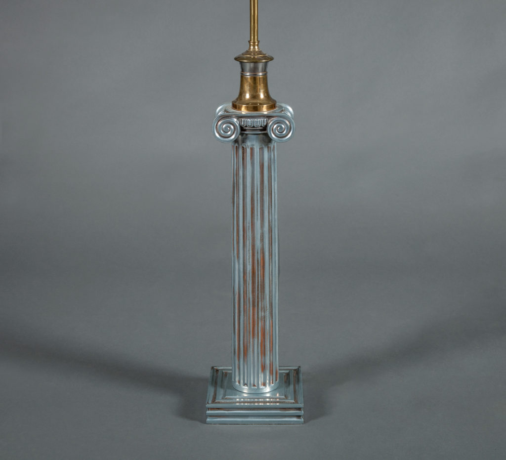 Single Neo-Classical Style Column Lamp