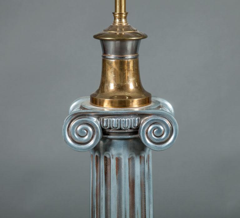 Single Neo-Classical Style Collumn Lamp
