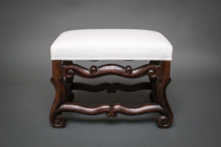 Spanish Single Upholstered Bench