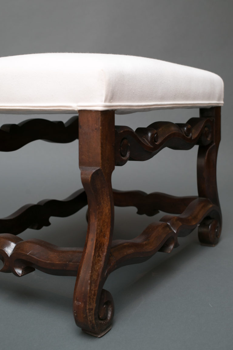 Spanish Single Upholstered Bench