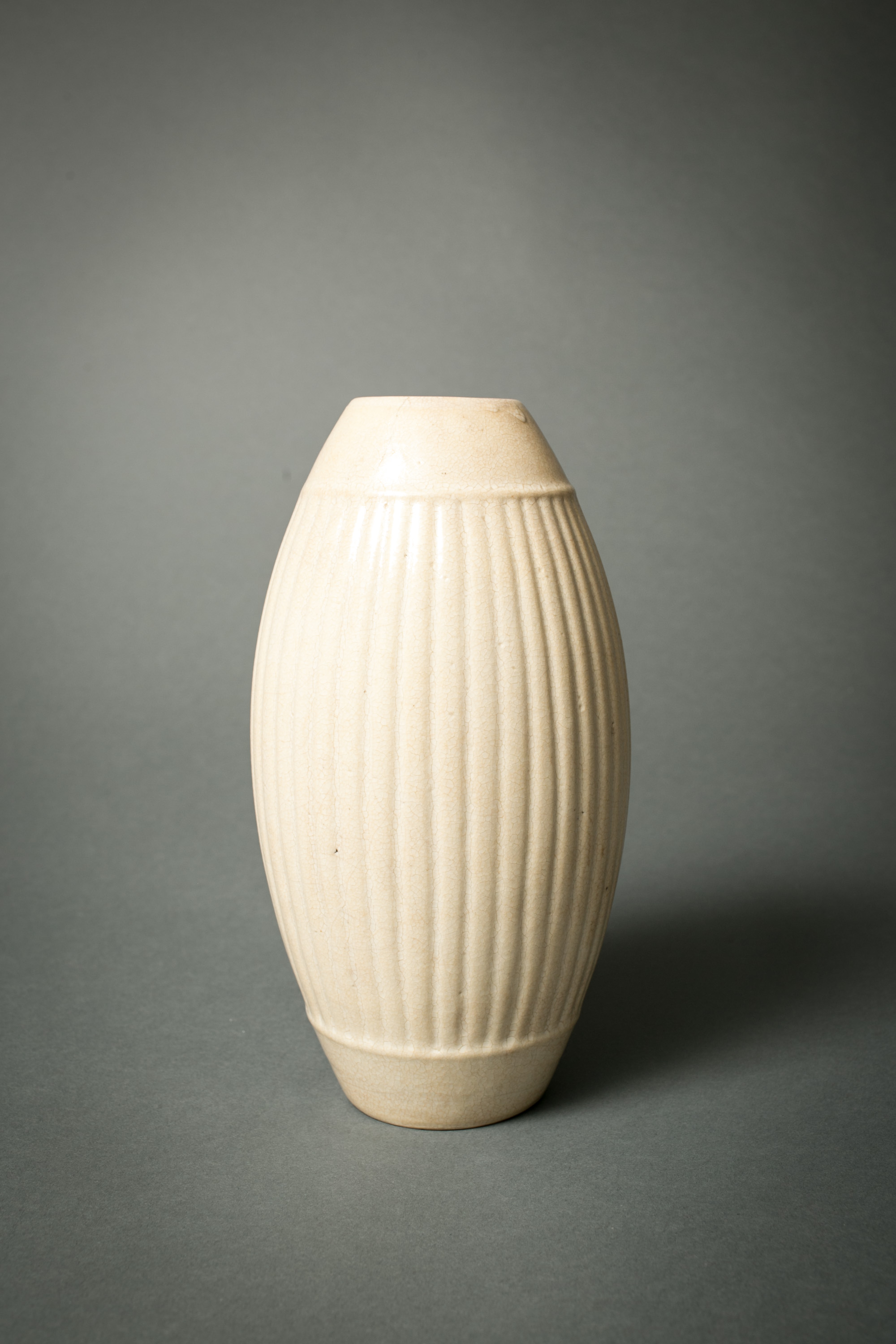 Sung Period Vase in the Form of a Drum