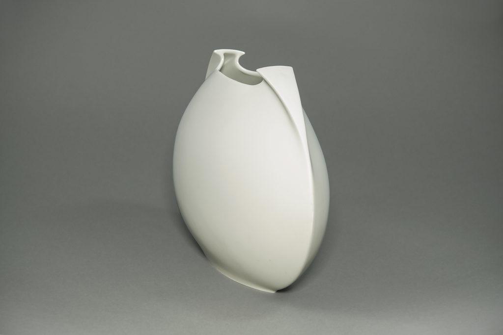 White Rosenthal German Vase