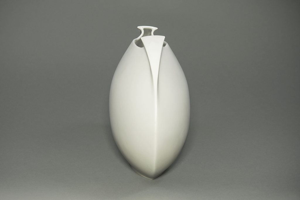 White Rosenthal German Vase