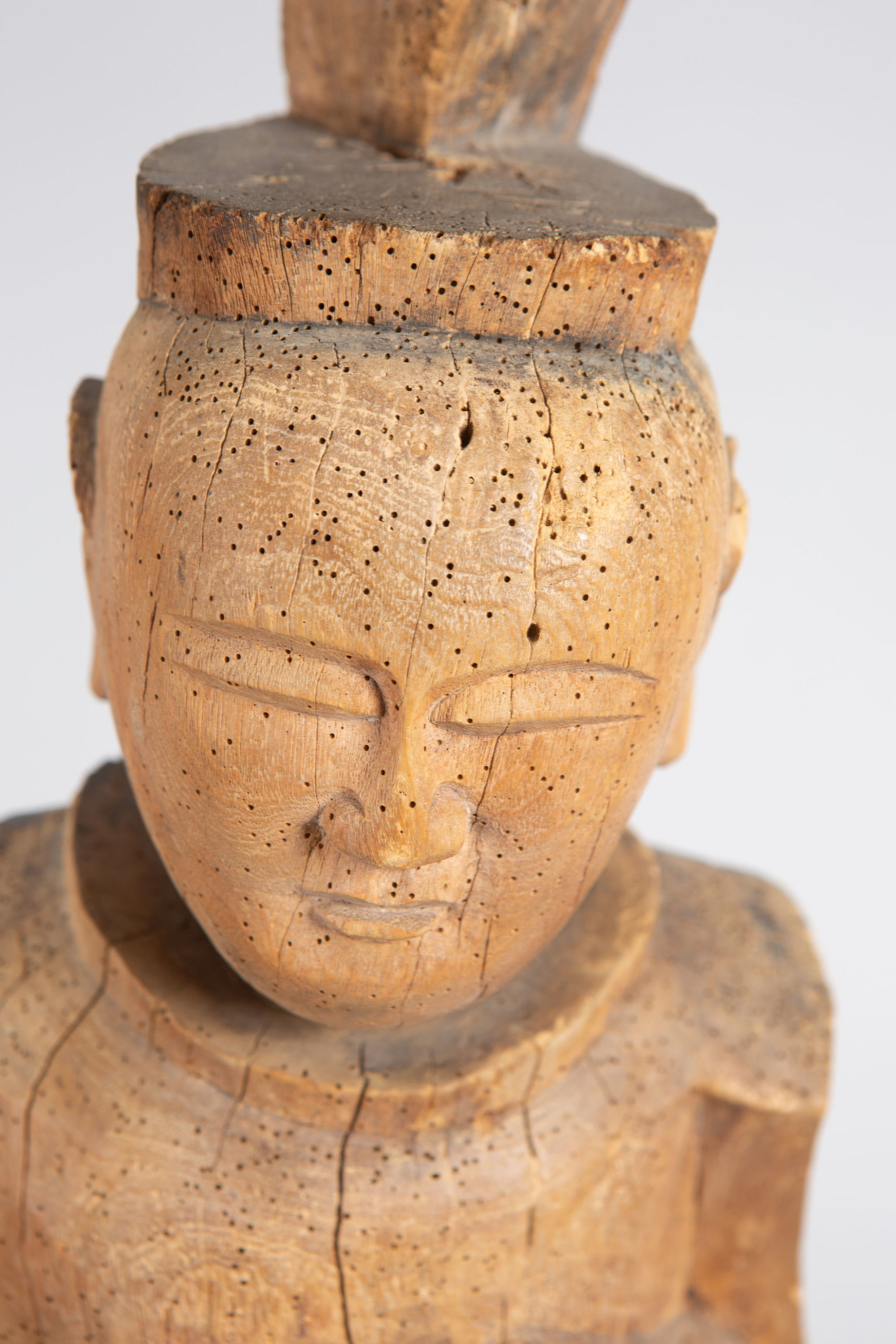 Shinto Carving of Figure Referred to as Father Japan
