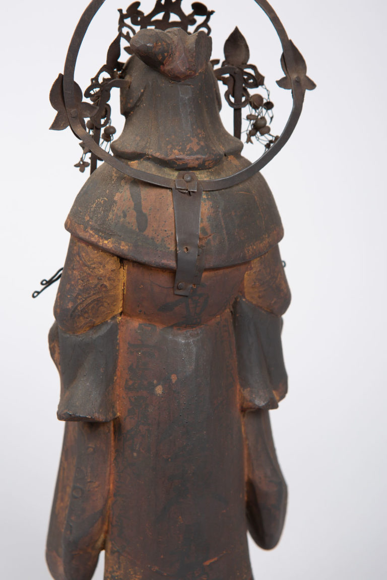 16th Century Japanese Sculpture of a Buddhist Tenbu