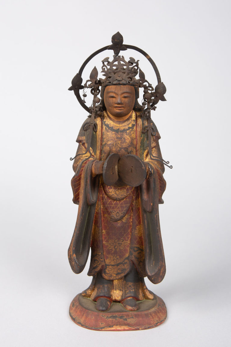 16th Century Japanese Sculpture of a Buddhist Tenbu