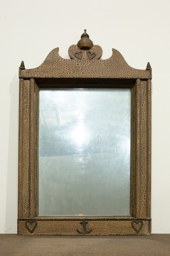 American Painted Mirror