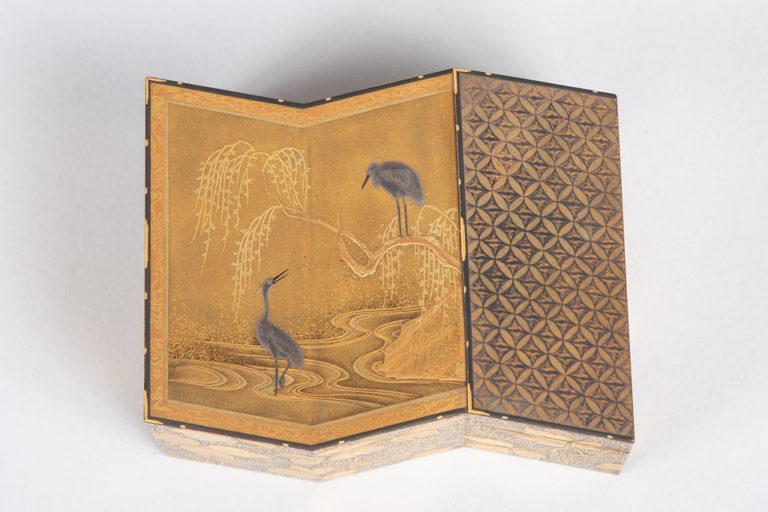 Fine Lacquer Kogo (Incense Box)