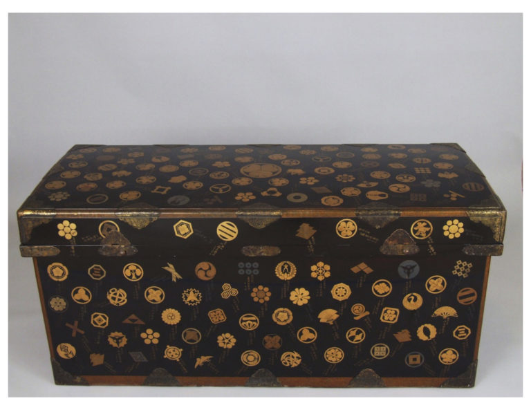 Historically Important and Rare Japanese Lacquer Trunk