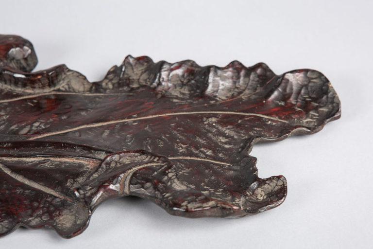 Japanese Hand Carved Banana Leaf Tray