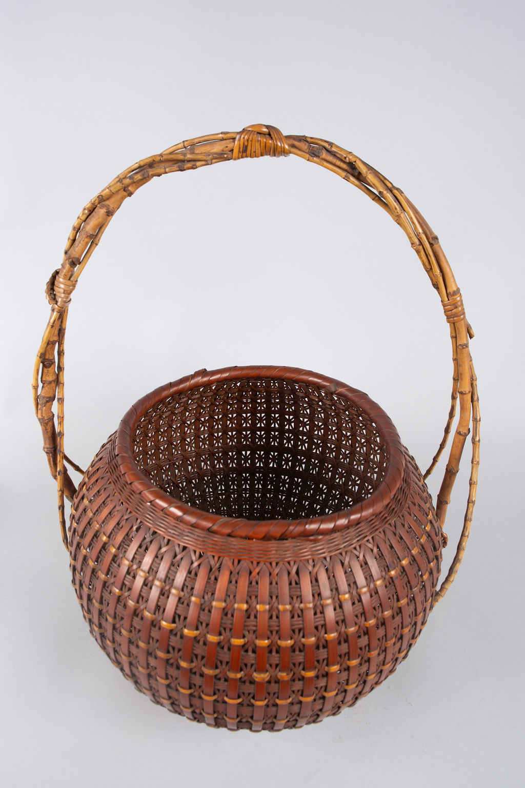 Japanese Ikebana (Flower Arranging Basket)