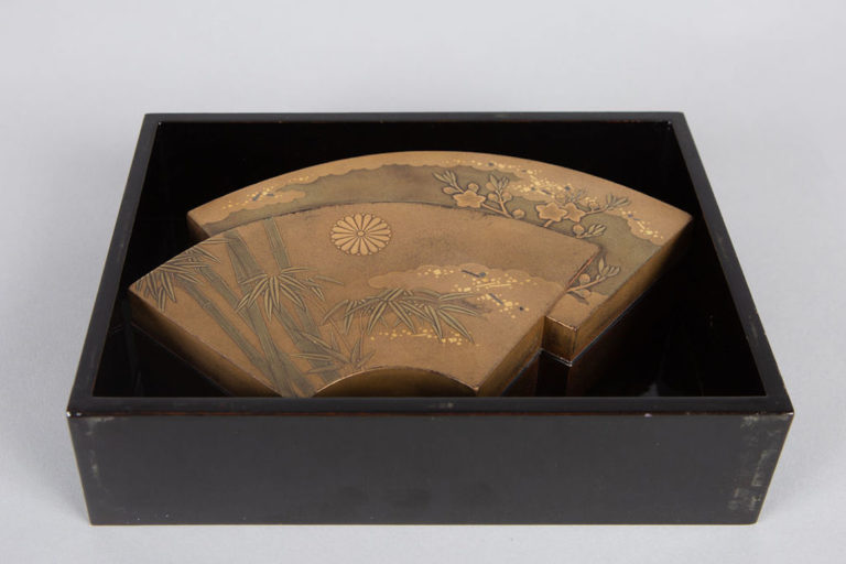 Japanese Lacquer Kogo (Incense Box)