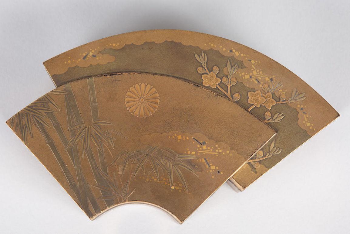 Japanese Lacquer Kogo (Incense Box)