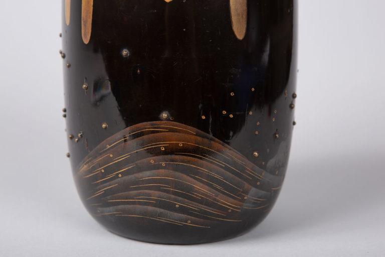 Japanese Lacquer Koro (Incense Burner)