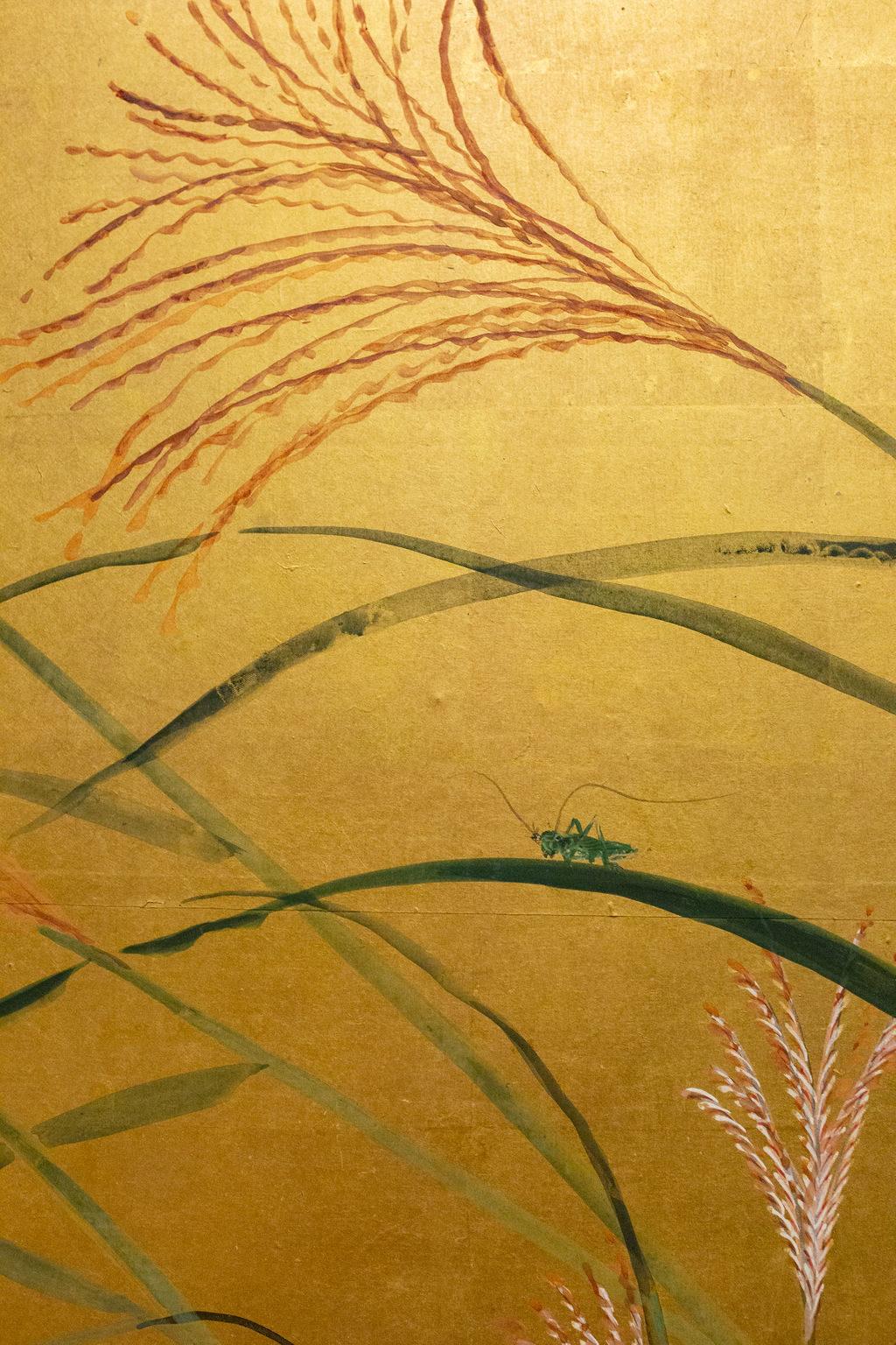 Japanese Six Panel Screen: A Garden For All Seasons