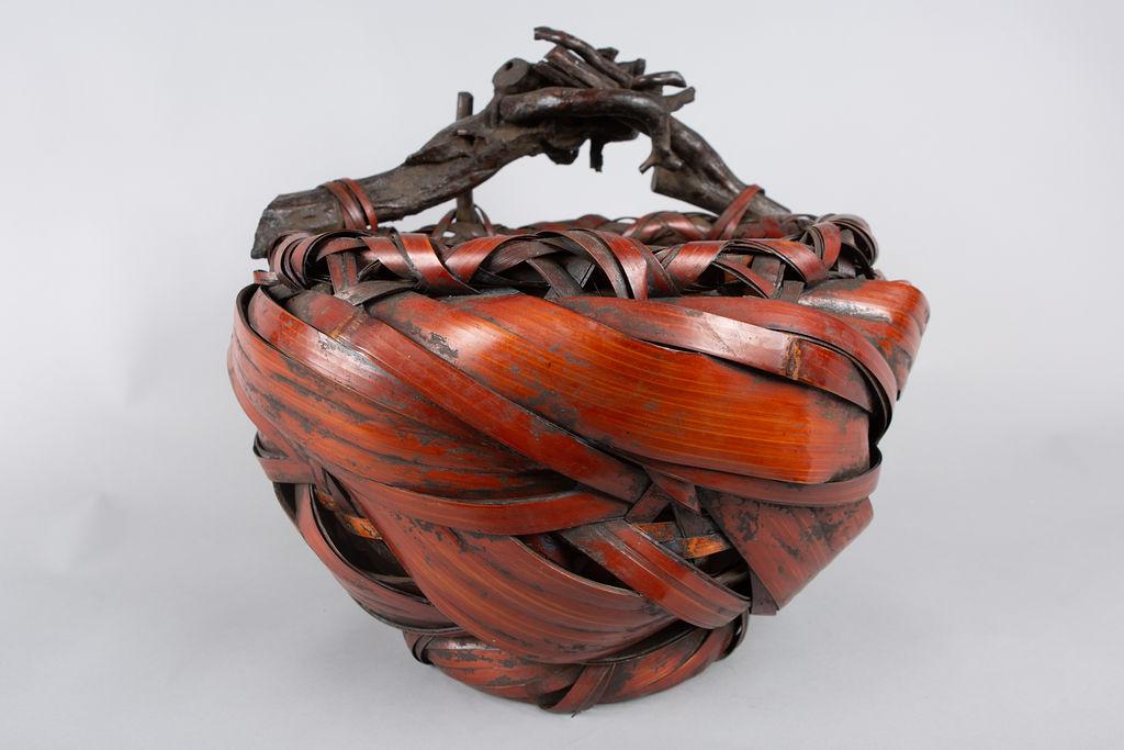 Large Ikebana (Flower Arranging Basket)