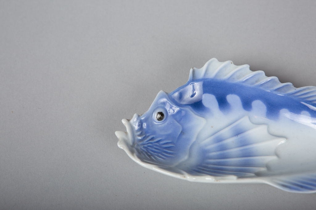 One Complete Set of Japanese Fish Plates