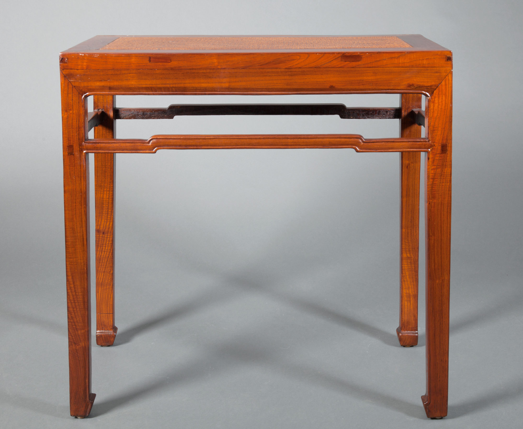 Chinese Elmwood Console