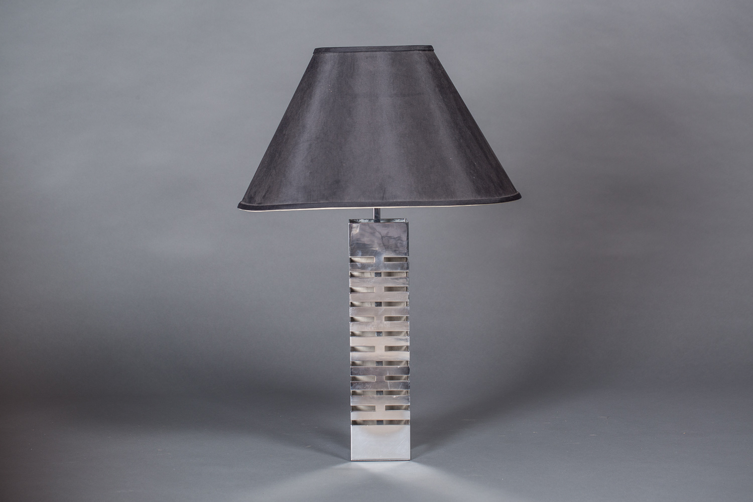French Single Nickel Lamp