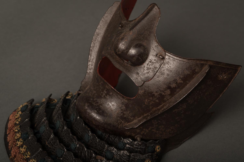 Japanese Samurai Iron Battle Mask