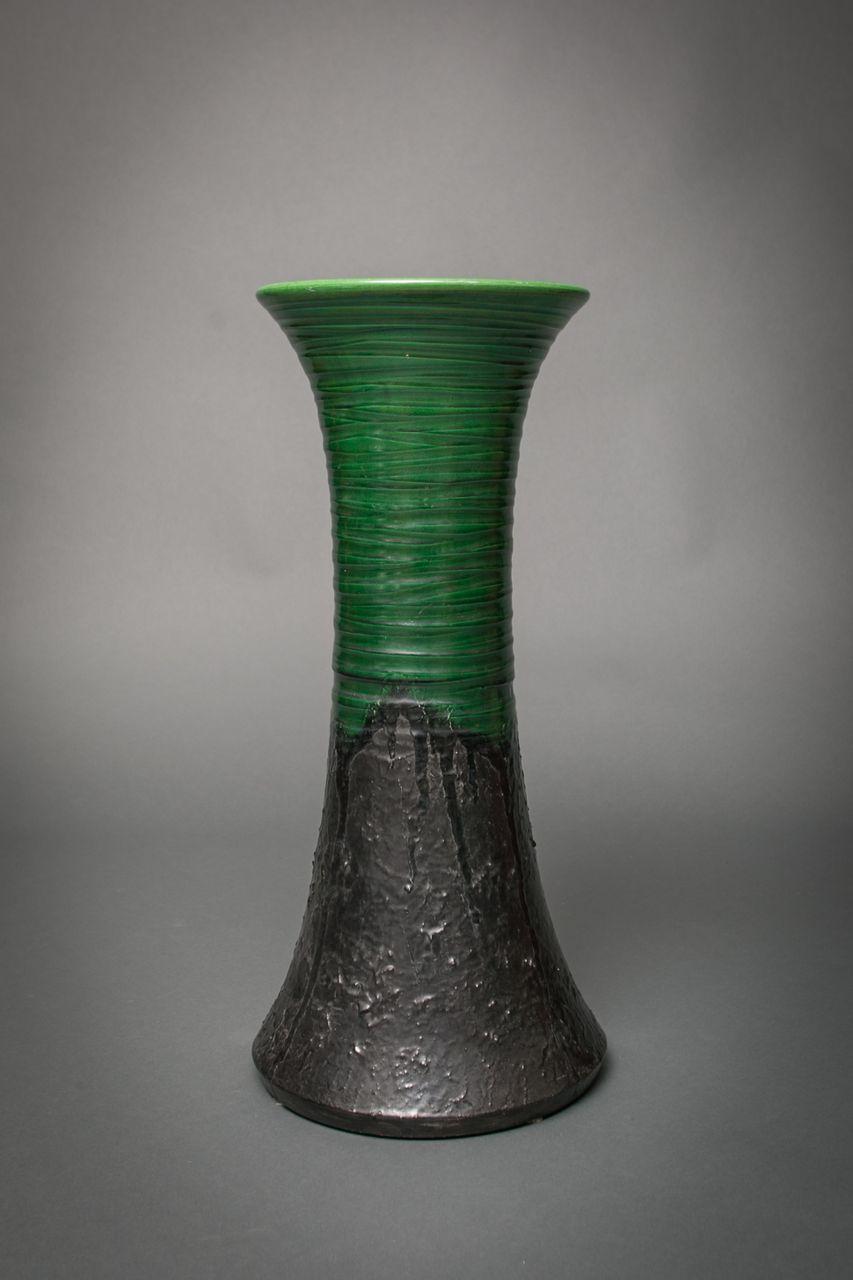 Unusual Awaji Vase