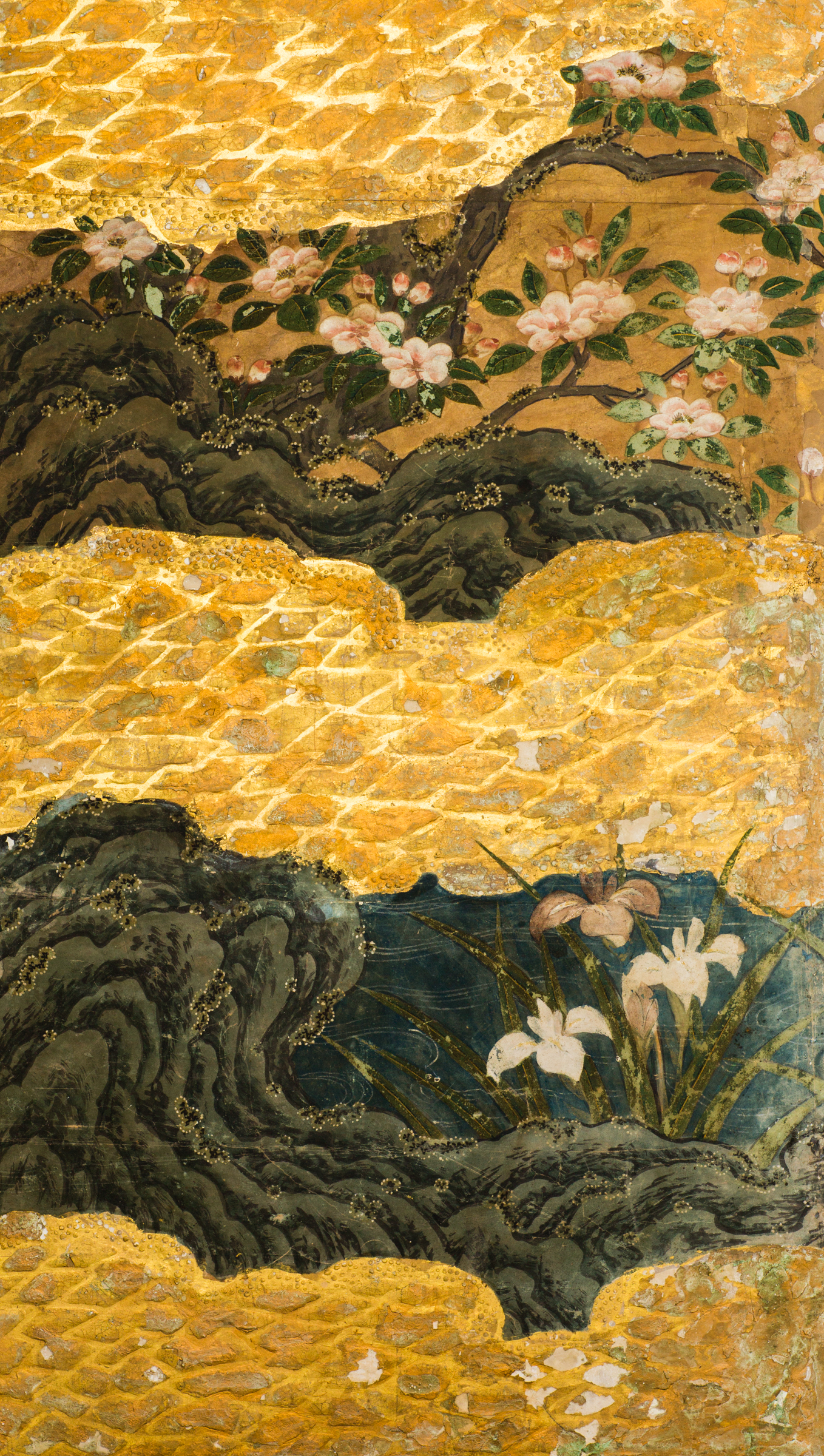 Japanese Six Panel Screen: Spring into Summer