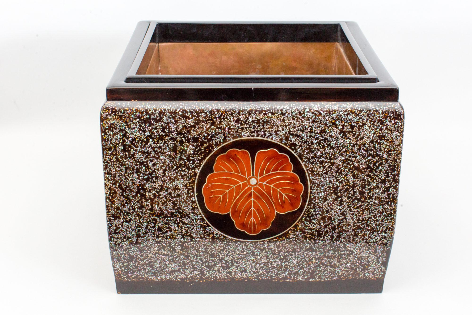 Japanese Lacquer Hibachi (Hand warmer)