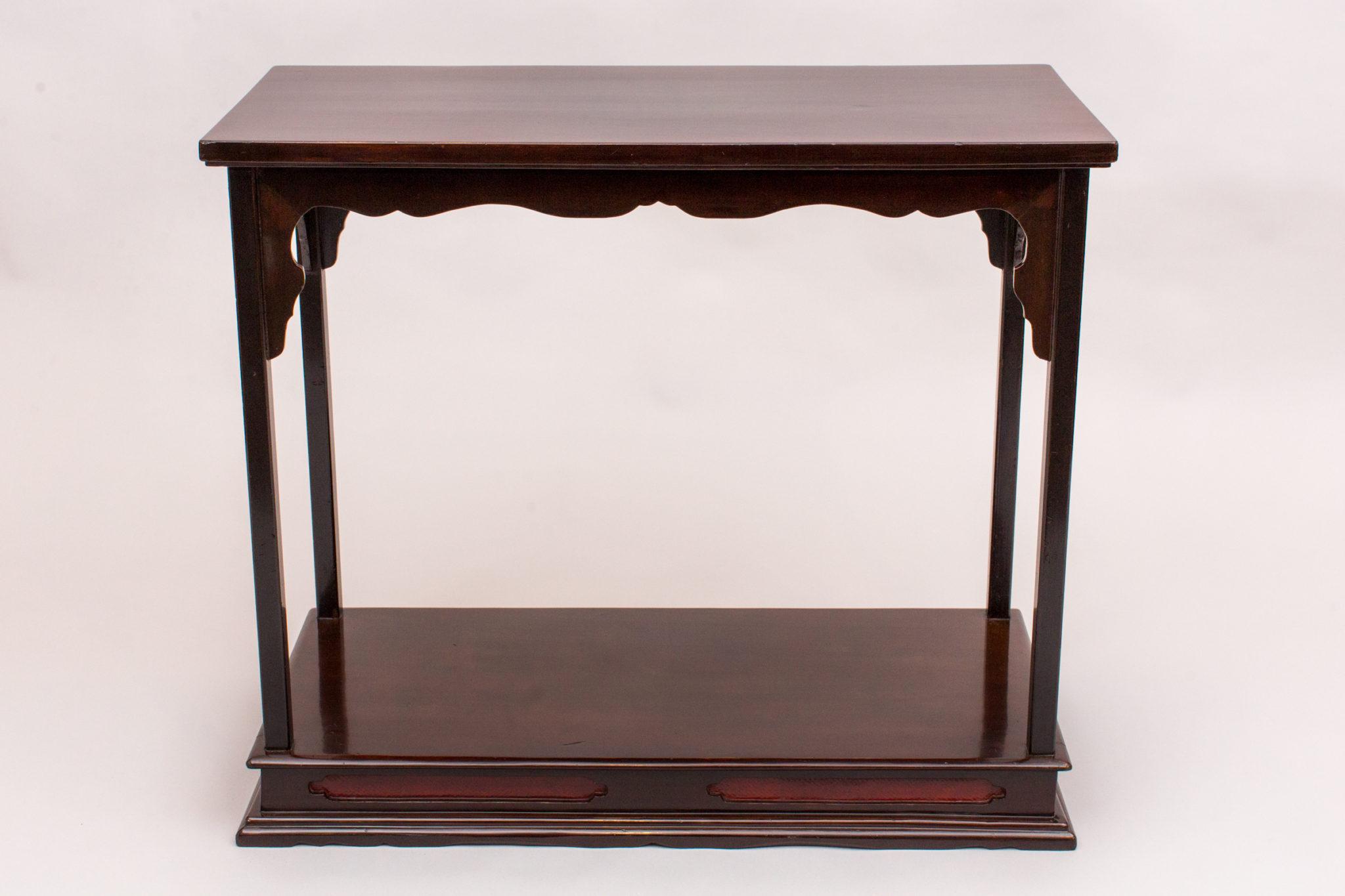 Antique Japanese Lacquer Presentation Table