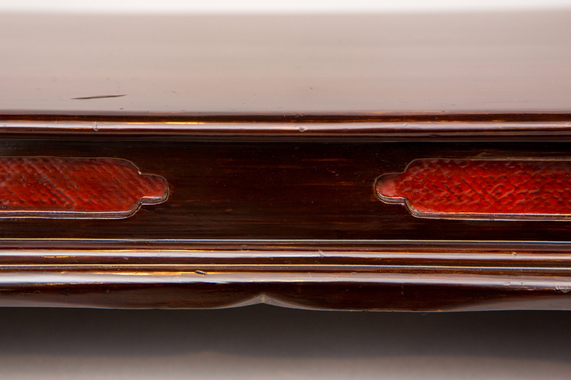 Antique Japanese Lacquer Presentation Table