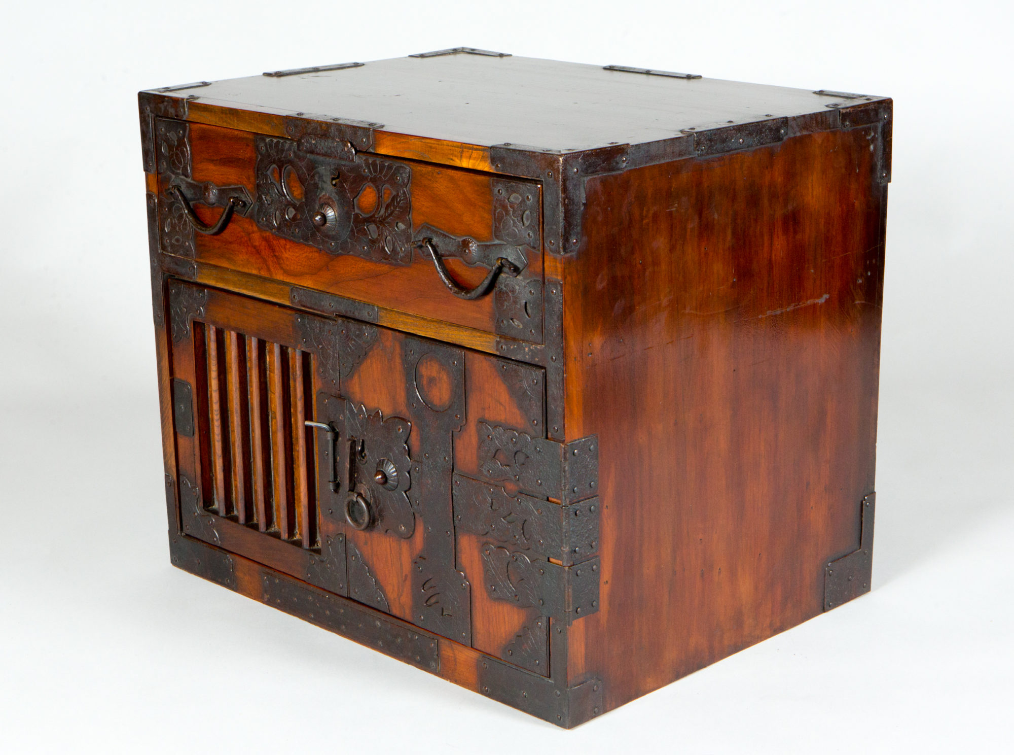 Antique Japanese Small Tansu Chest