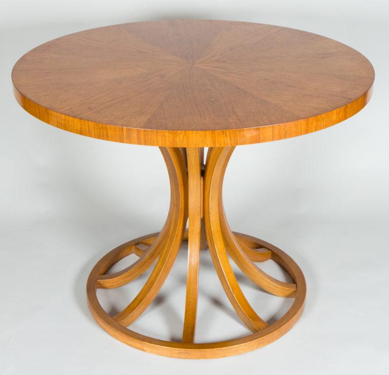Mid Century Oak Center Table