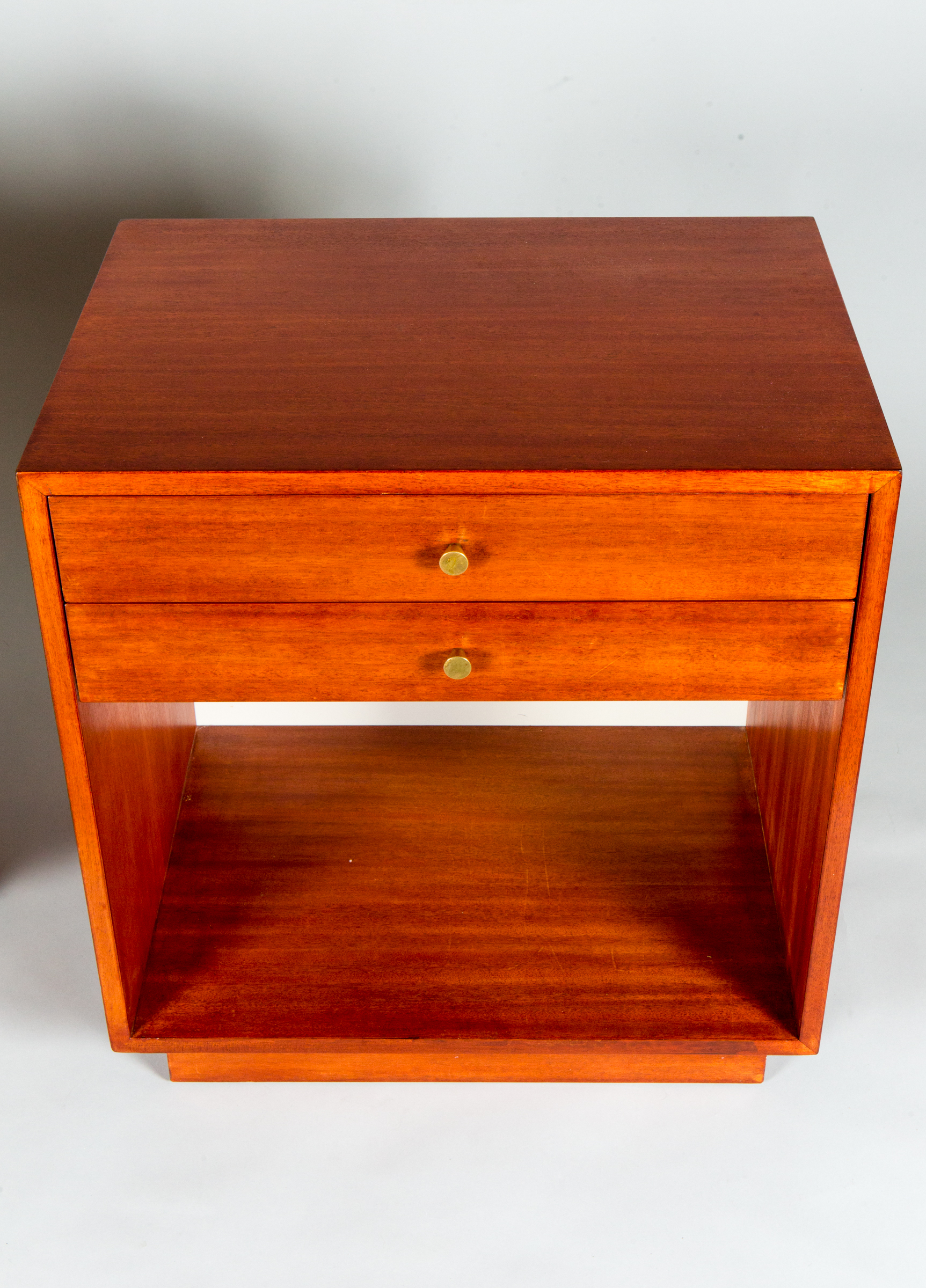 Pair of Jens Risom Side Tables