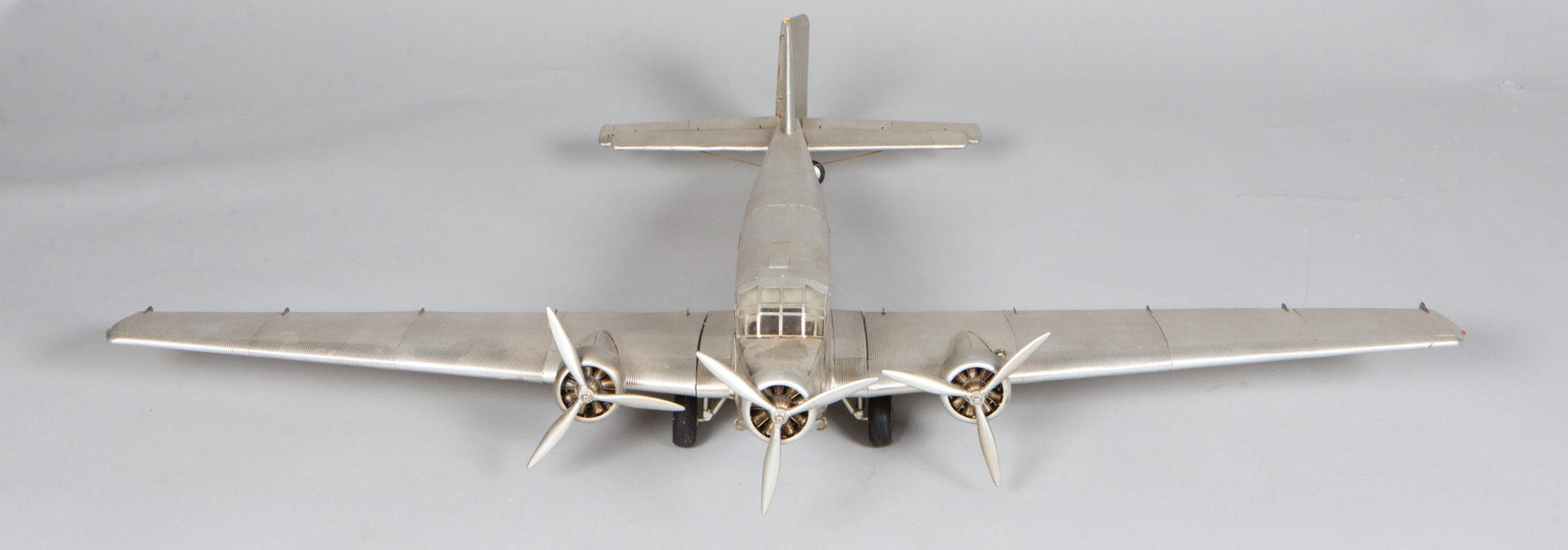 Fokker 1938 Trimotor Model Airplane
