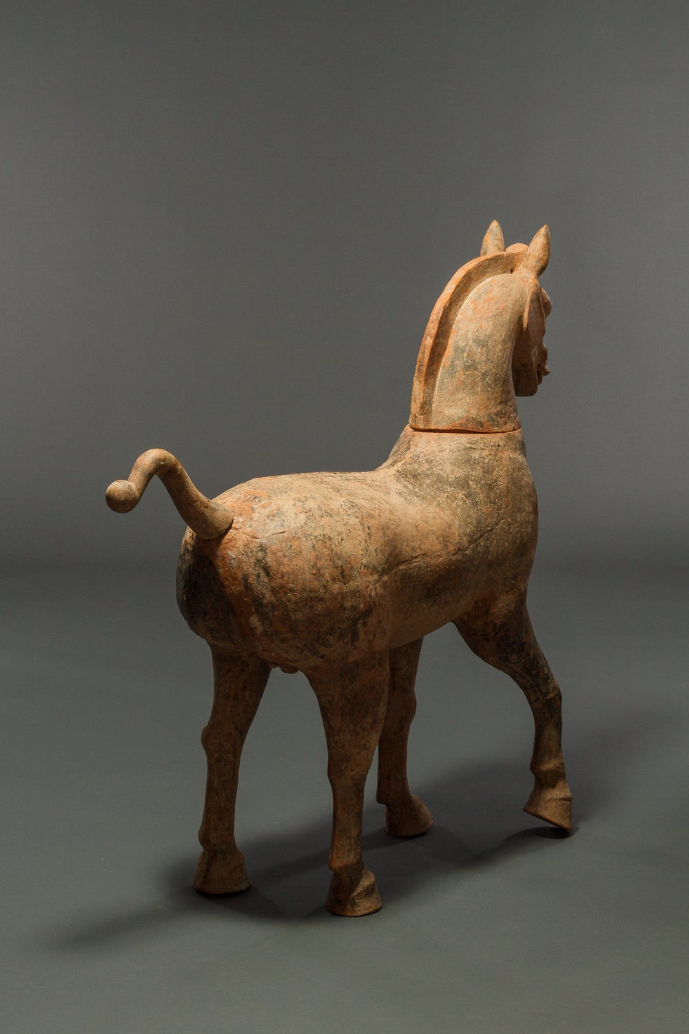 Large Chinese Pottery Horse