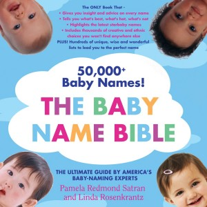 Baby Name Bible all caps