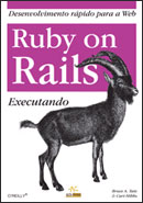Capa do livro Ruby on Rails: Executando