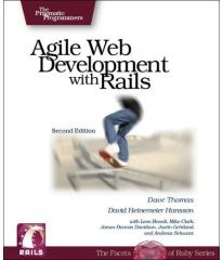 Capa do livro Agile Web Development With Rails