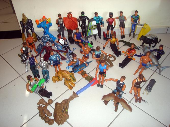 Coleção completa de Max Steel do Gustavo
